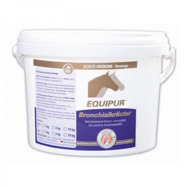 Equipur Bronchialkräuter Pellets 1kg