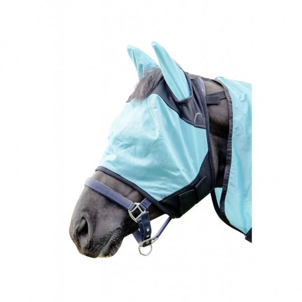 HKM Fliegenschutzmaske -Aqua-