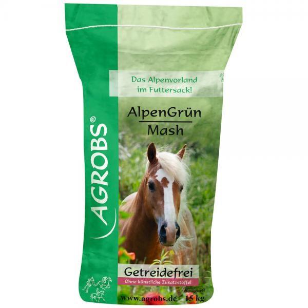 Agrobs AlpenGrün Mash- Getreidefreies Mash für eine geregelte Verdauung
