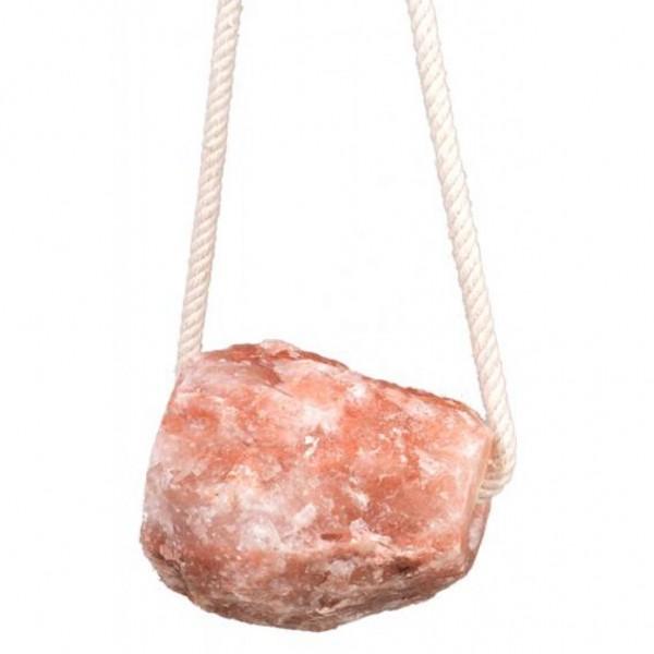 Kristallsalzleckstein- m. Kordel 2,0 kg